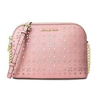 Michael Kors Cindy Large Blossom/Ballet Dome Crossbody Handbag