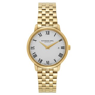 Raymond Weil Toccata Yellow Gold Plated Stainless Steel Men's Watch