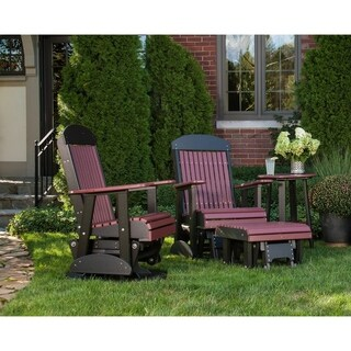 Poly Outdoor 2 Foot Highback Glider Chair