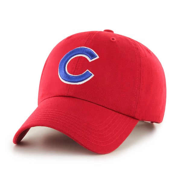 Chicago Cubs MLB Red Clean Up Hat
