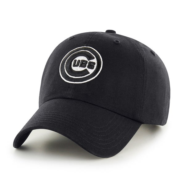 fce0e8351ddc4e Shop Chicago Cubs MLB Black Clean Up Hat - Free Shipping On Orders Over $45  - Overstock - 13476550