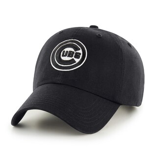 Chicago Cubs MLB Black Clean Up Hat