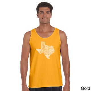 Men's Cotton The Great State of Texas Tank Top