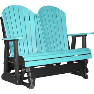 Link to Poly Outdoor 4 Foot Adirondack Porch Glider Bench Similar Items in Patio Furniture