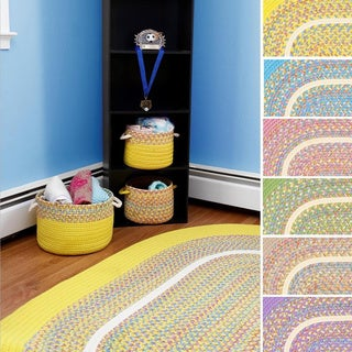 Kids Place Indoor / Outdoor Reversible Accent Rug, by Rhody Rug, 2 ft x 3 ft - 2' x 3'