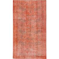ecarpetgallery Hand-Knotted Color Transition Brown  Wool Rug (3'9 x 6'8)