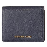 Michael Kors Jet Set Admiral Travel Carryall Card Case
