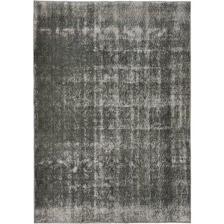 ecarpetgallery Hand-Knotted Color Transition Grey Wool Rug (5'0 x 7'2)