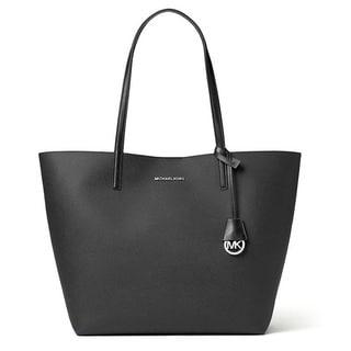 Michael Kors Hayley Large Black/GreyTote Handbag