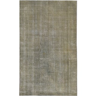 ecarpetgallery Hand-Knotted Color Transition Green, Grey Wool Rug (5'0 x 8'0)