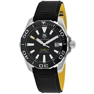 Tag Heuer Aquaracer WAY211A.FT6068 Men's Black Dial Watch