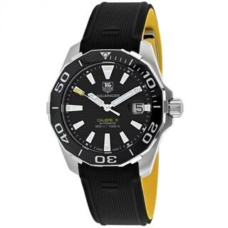 Tag Heuer Aquaracer WAY211A.FT6068 Men's Black Dial Watch