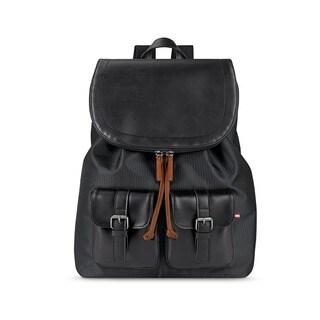 Solo Bridge Hampton Flapover Vinyl 13.3-inch Laptop Backpack