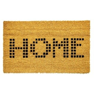 Machine Woven Vale ( Ivory ) 100% Natural Coir Doormat