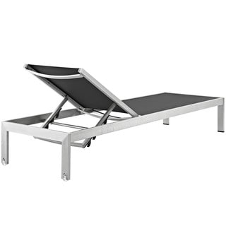 Shore Aluminum Outdoor Chaise Set of 6