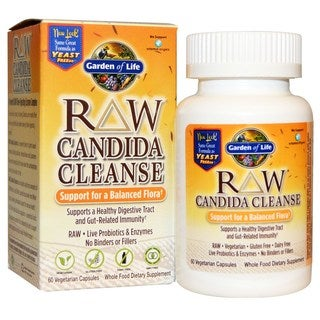 Garden of Life RAW Candida Cleanse Support (60 Veggie Capsules)