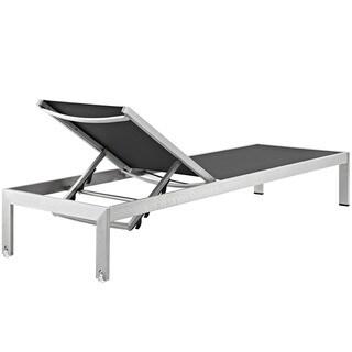 Shore Aluminum Outdoor Chaise Set of 4