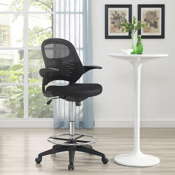 Modway Black Advance Drafting Chair