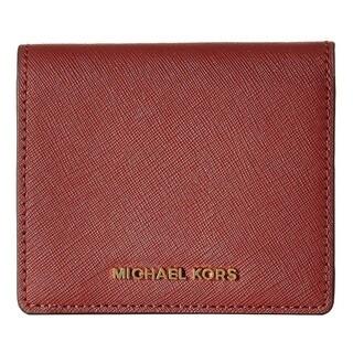 MICHAEL Michael Kors Jet Set Trave Brickl Carryall Card Case