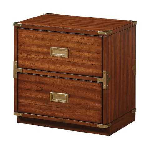 Wellington 2 Drawer Accent Storage Cabinet