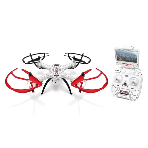World Tech Toys Sonic 2.4GHz 4.5-channel Live-feed Video Electric Gimbal RC Drone