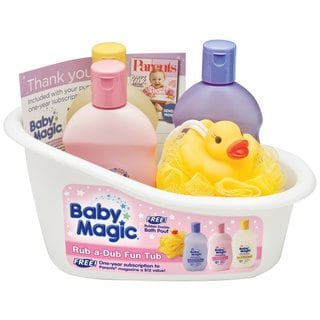 Baby Magic Rub-a-Dub Fun Tub Set