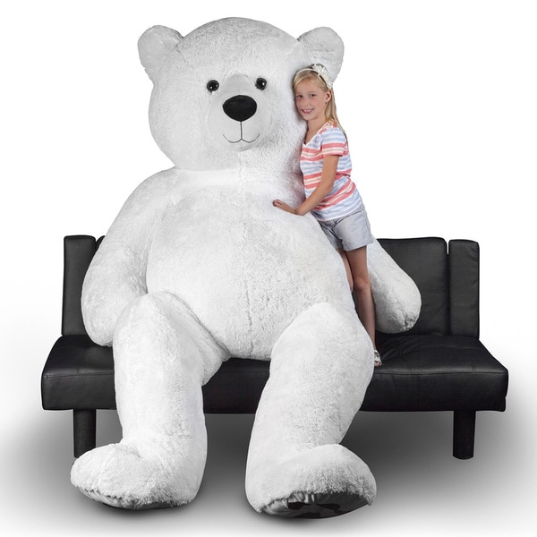 Shop Polar Bear 94 Inch Giant Stuffed Animal Free Shipping Today