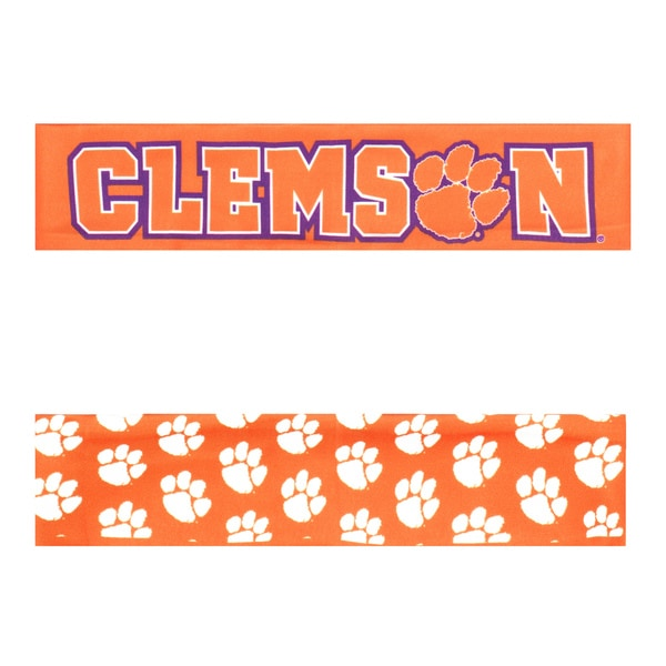 Clemson University Reversible Team Color Headband