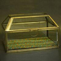 Handmade Glass Jewelry Box (Indonesia)
