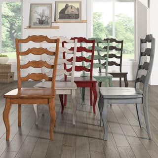 Eleanor French Ladder Back Wood Dining Chair (Set of 2) by iNSPIRE Q Classic|https://ak1.ostkcdn.com/images/products/13477165/P20163473.jpg?impolicy=medium