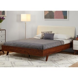 Simple Living Cassie Mid-Century Queen Bed