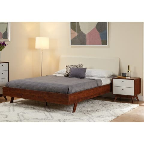 Simple Living Cassie Mid-Century Bedroom Set