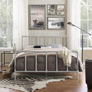 Dower Stainless Steel Bed in Gray