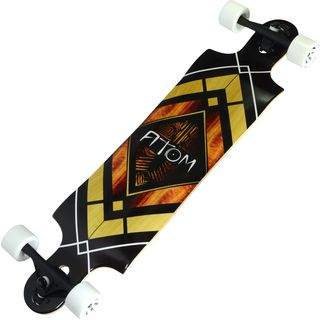Atom Woody Diamond 38-inch Double Drop Longboard