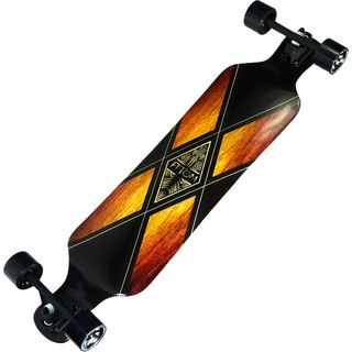 "Atom 39"" Drop Deck Longboard - Woody X"