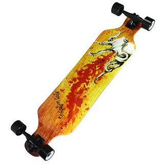 Atom Octopus Maple Laminate 39-inch Drop Deck Longboard