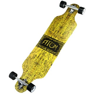 Atom Tiki Banner 40-inch Drop-through Longboard