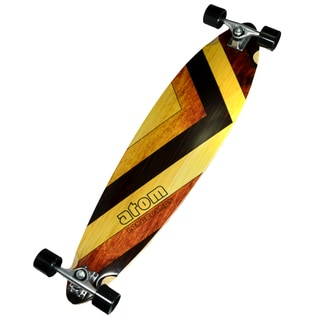 Atom Woody 39-inch Pintail Longboard