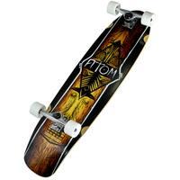Atom Tiki 36-inch Kicktail Longboard
