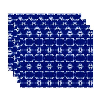 Summer Picnic Geometric Print Placemat (Set of 4)