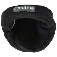 Men's Stretch Black Fleece Adjustable Ear Warmer (One Size)