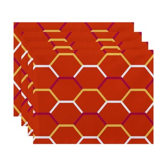 Cool Shades Geometric Print Cool Shades Placemat