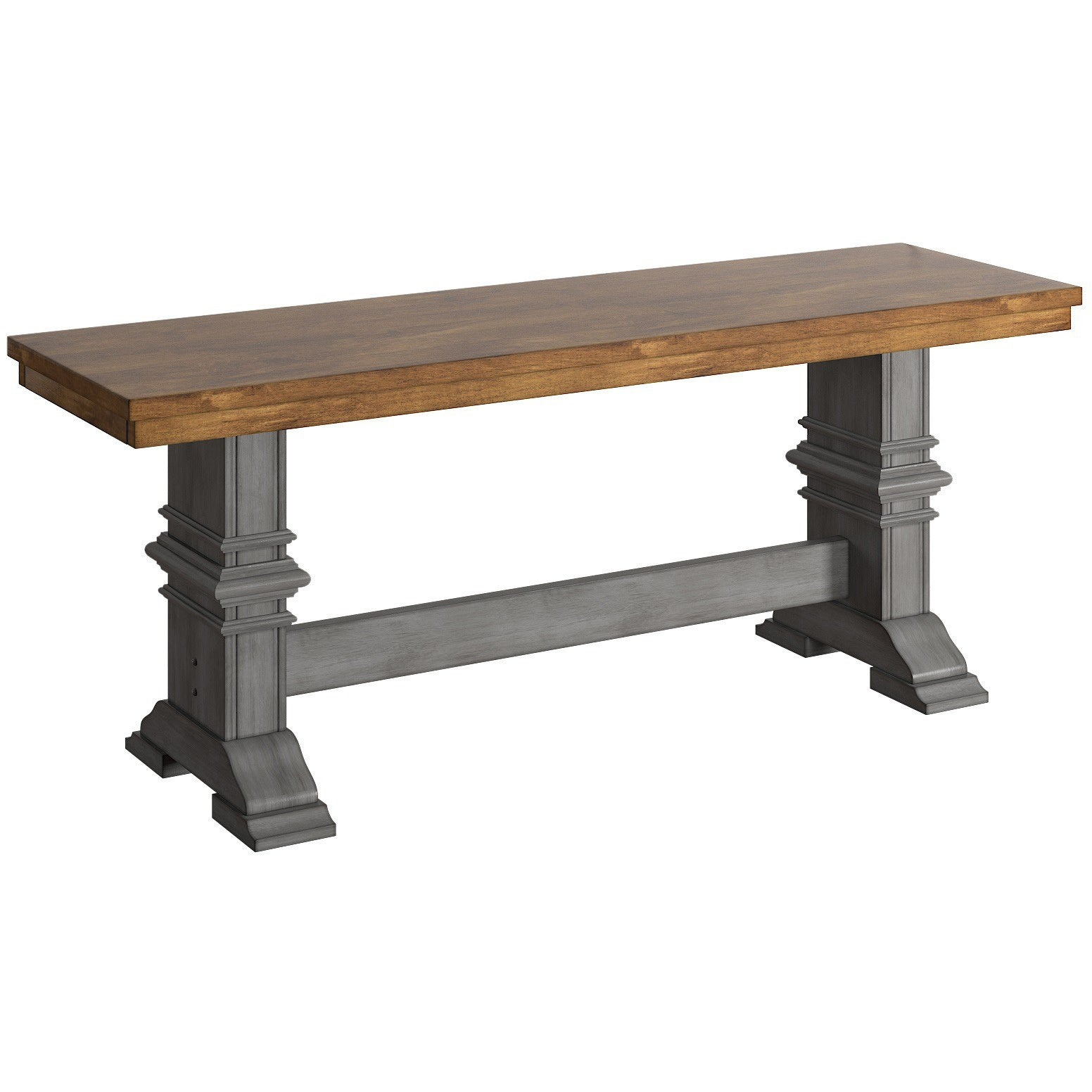 Eleanor-Two-Tone-Trestle-Leg-Wood-Dining-Bench-