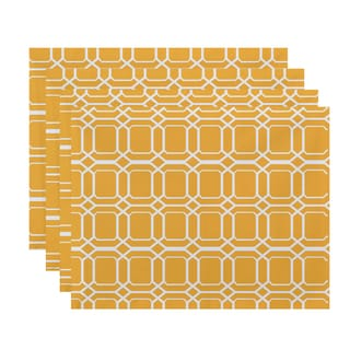O the Fun Geometric Print Placemat