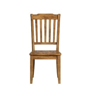 Eleanor Slat Back Wood Dining Chair (Set of 2) by TRIBECCA HOME