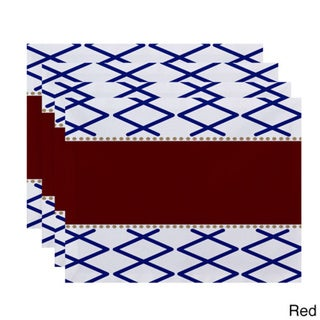 Knot Fancy Geometric Print Placemat