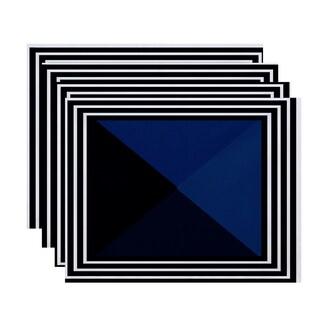 Nautical Angles Geometric Print Placemat