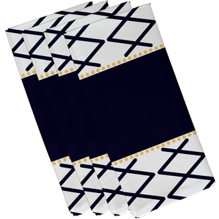 Knot Fancy Geometric Print Napkin
