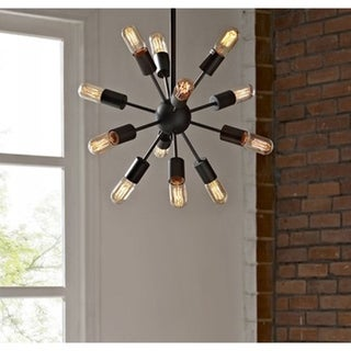 Herrick 20-inch 12-head Edison Light Pendant (Includes Bulbs)