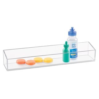 InterDesign Clarity Cosmetic Organizer Tray